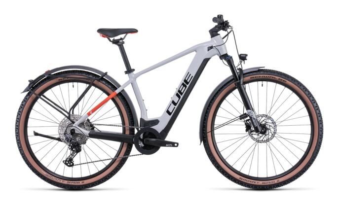 e-Mountainbike Cube Reaction Hybrid Pro 625 Allroad grey´n´red 2022