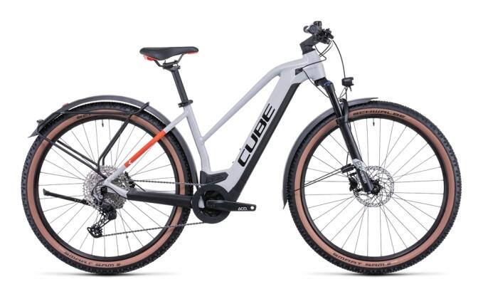 e-Mountainbike Cube Reaction Hybrid Pro 500 Allroad grey´n´red 2022