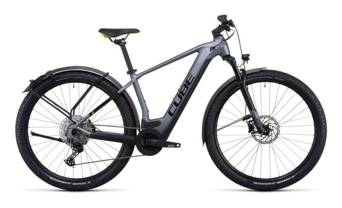 e-Mountainbike Cube Reaction Hybrid Pro 500 Allroad flashgrey´n´green 2022