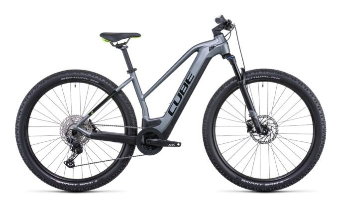e-Mountainbike Cube Reaction Hybrid Pro 625 flashgrey´n´green 2022