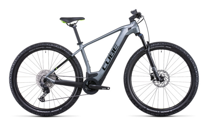 e-Mountainbike Cube Reaction Hybrid Pro 500 flashgrey´n´green 2022