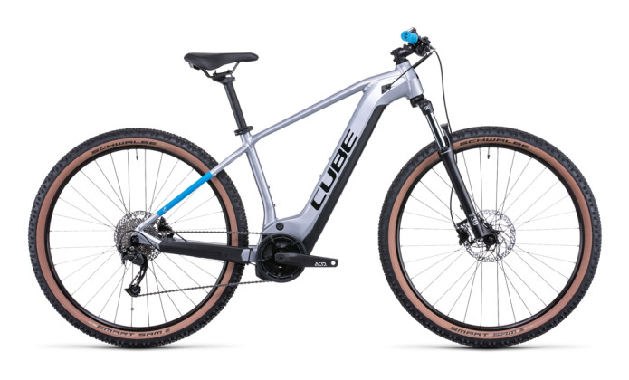 e-Mountainbike Cube Reaction Hybrid Performance 500 polarsilver 2022