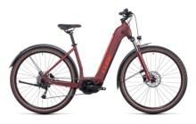 e-Mountainbike Cube Nuride Hybrid Performance 625 Allroad darkred