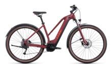 e-Mountainbike Cube Nuride Hybrid Performance 500 Allroad darkred