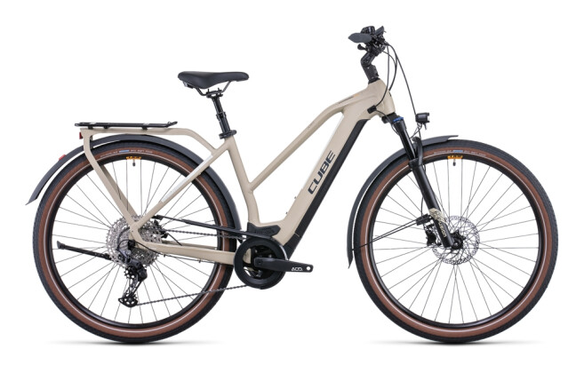 e-Trekkingbike Cube Kathmandu Hybrid Pro 625 desert´n´orange 2022