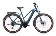 e-Trekkingbike Cube Kathmandu Hybrid ONE 625 teal´n´lime