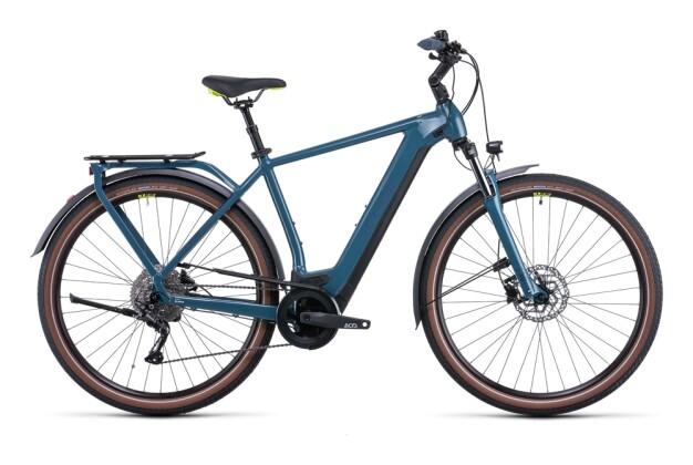 e-Trekkingbike Cube Kathmandu Hybrid ONE 625 teal´n´lime 2022