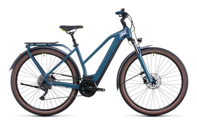 e-Trekkingbike Cube Kathmandu Hybrid ONE 500 teal´n´lime 2022