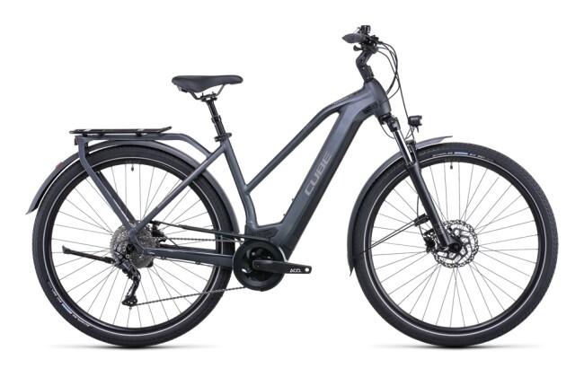 e-Trekkingbike Cube Kathmandu Hybrid ONE 625 grey´n´teak 2022