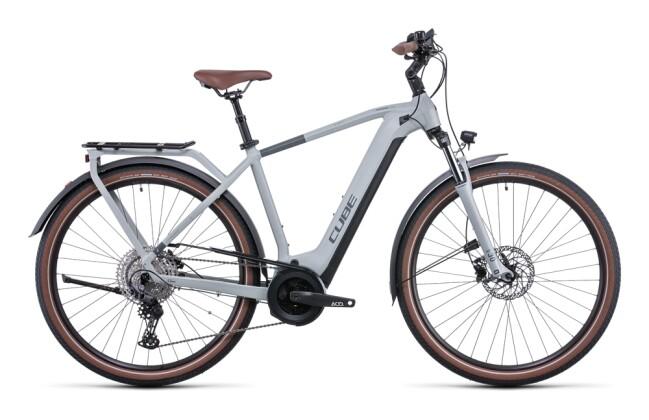e-Citybike Cube Touring Hybrid Pro 625 lunar´n´grey 2022