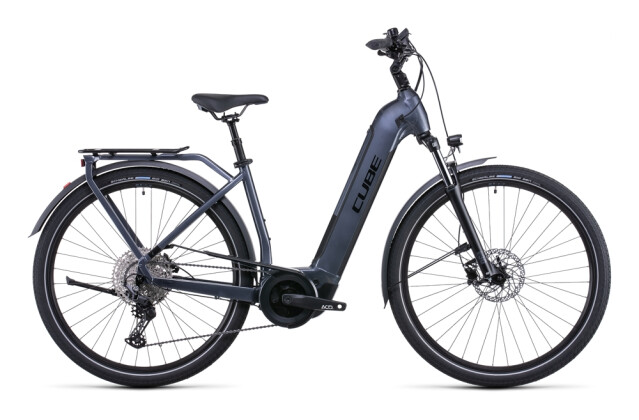 e-Citybike Cube Touring Hybrid Pro 625 metallicgrey´n´black 2022