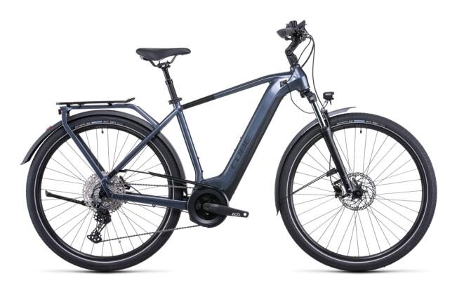 e-Citybike Cube Touring Hybrid Pro 500 metallicgrey´n´black 2022