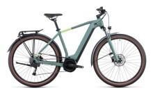 e-Citybike Cube Touring Hybrid ONE 625 green´n´sharpgreen