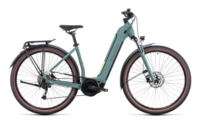 e-Citybike Cube Touring Hybrid ONE 500 green´n´sharpgreen 2022