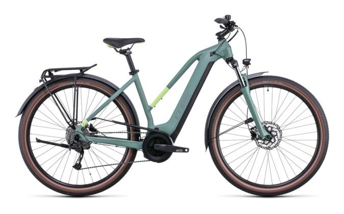 e-Citybike Cube Touring Hybrid ONE 400 green´n´sharpgreen 2022