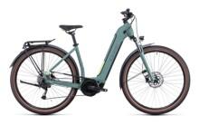 e-Citybike Cube Touring Hybrid ONE 400 green´n´sharpgreen
