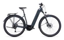 e-Citybike Cube Touring Hybrid ONE 625 grey´n´blue
