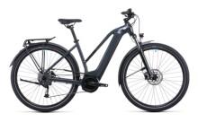 e-Citybike Cube Touring Hybrid ONE 400 grey´n´blue