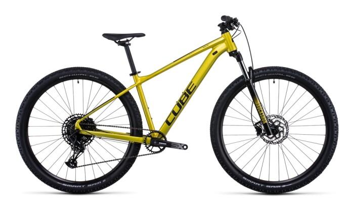 Mountainbike Cube Analog flashlime´n´black 2022