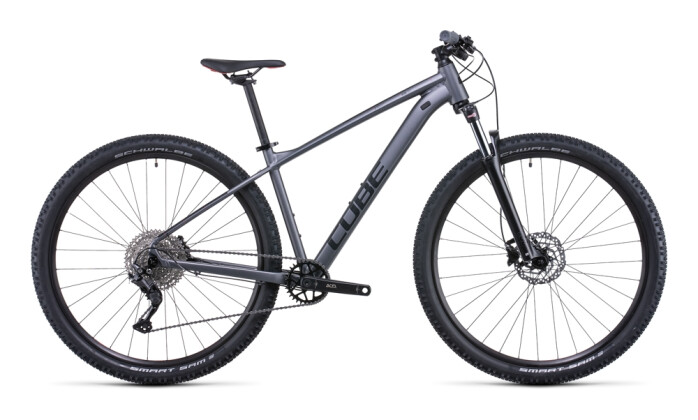 Mountainbike Cube Aim EX grey´n´red 2022