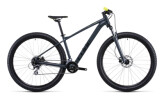 Mountainbike Cube Aim Pro grey´n´flashyellow