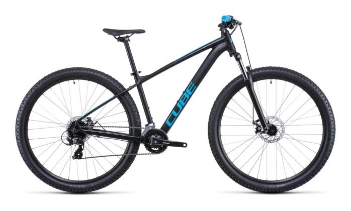 Mountainbike Cube Aim black´n´blue 2022