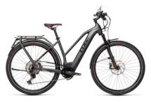e-Trekkingbike Cube Kathmandu Hybrid 45 625 grey´n´red