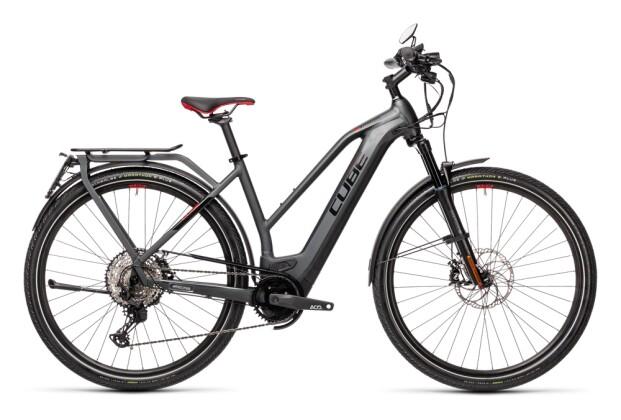 e-Trekkingbike Cube Kathmandu Hybrid 45 625 grey´n´red 2022