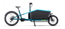 e-Lastenrad Cube Cargo Sport Dual Hybrid 1000 blue´n´lime