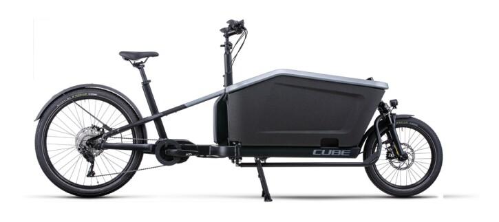 e-Lastenrad Cube Cargo Sport Dual Hybrid 1000 flashgrey´n´black 2022