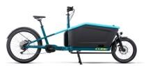e-Lastenrad Cube Cargo Sport Hybrid  500 blue´n´lime