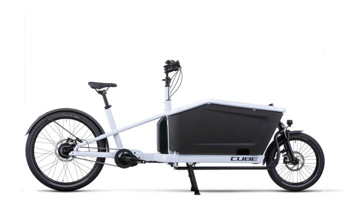 e-Lastenrad Cube Cargo Dual Hybrid 1000 flashwhite´n´black 2022