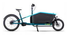 e-Lastenrad Cube Cargo Hybrid 500 blue´n´lime