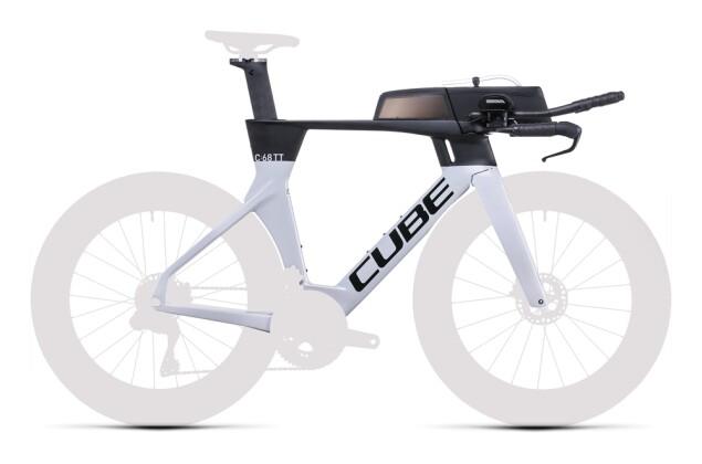 Race Cube Aerium C:68 TT Rahmenset HIGH prismagrey´n´carbon 2022
