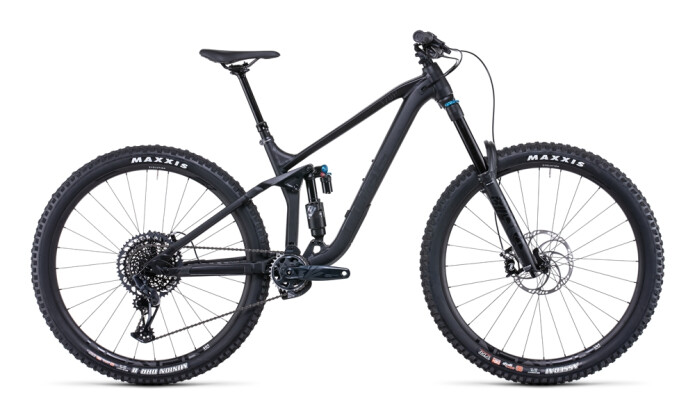 Mountainbike Cube Stereo ONE77 Pro 29 black anodized 2022