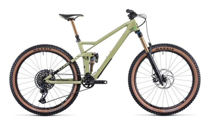 Mountainbike Cube Stereo 140 HPC SLT 27.5 green´n´flashgreen 2022