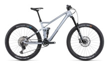 Mountainbike Cube Stereo 140 HPC SL 27.5 polarsilver´n´black
