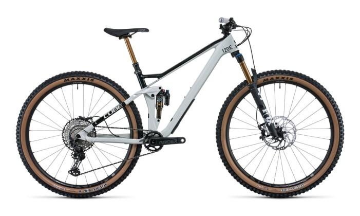 Mountainbike Cube Stereo 120 HPC EX 29 grey´n´carbon 2022