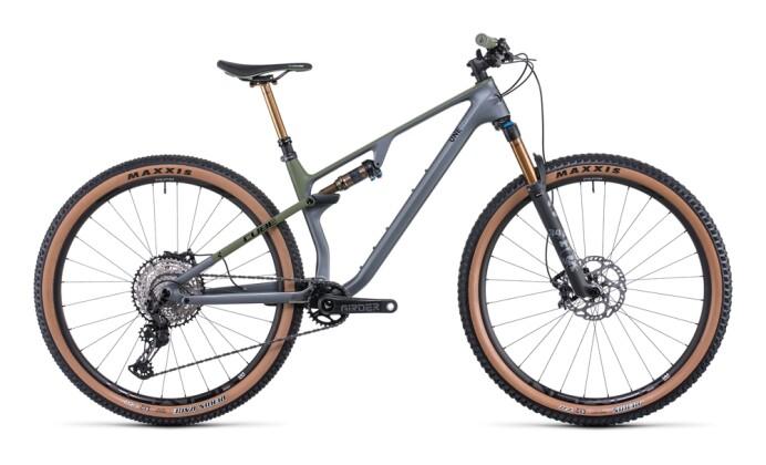 Mountainbike Cube AMS ONE11 C:68X TM 29 flashgrey´n´olive 2022