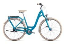 Citybike Cube Ella Cruise aquamarine´n´black