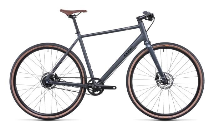 Urban-Bike Cube Hyde Race grey´n´black 2022
