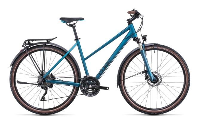 Trekkingbike Cube Nature EXC Allroad blue´n´blue 2022