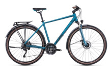 Trekkingbike Cube Nature EXC Allroad blue´n´blue