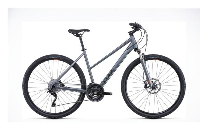 Crossbike Cube Nature SL flashgrey´n´orange 2022