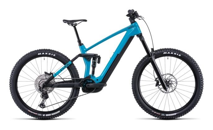 e-Mountainbike Cube Stereo Hybrid 160 HPC SL 750 27.5 aquamarine´n´bl 2022