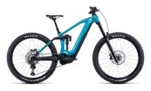 e-Mountainbike Cube Stereo Hybrid 160 HPC SL 625 27.5 aquamarine´n´bl