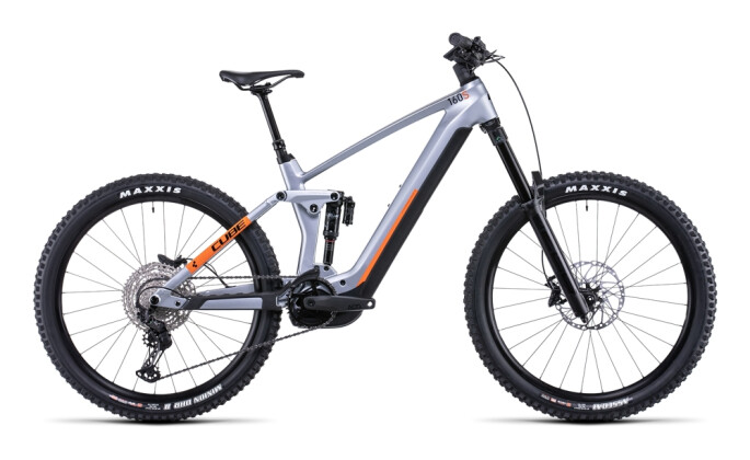 e-Mountainbike Cube Stereo Hybrid 160 HPC SL 750 27.5 polarsilver´n´or 2022