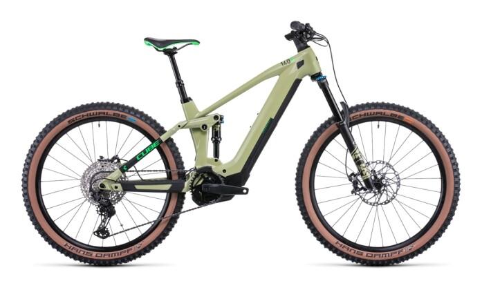 e-Mountainbike Cube Stereo Hybrid 140 HPC SL 625 27.5 green´n´flash 2022