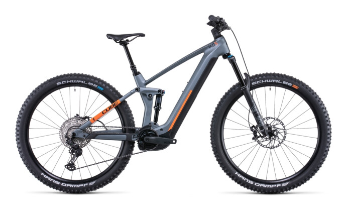 e-Mountainbike Cube Stereo Hybrid 140 HPC SL 750 29 flashgrey´n´orange 2022