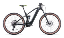 e-Mountainbike Cube Stereo Hybrid 140 HPC Race 625 grey´n´green